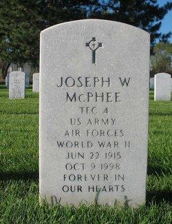 Joseph W McPhee