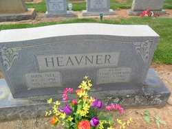 Essie Prue <I>Leonard</I> Heavner