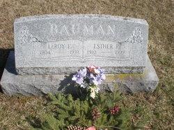 Esther R. <I>Kulp</I> Bauman