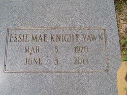 Essie Mae <I>Knight</I> Yawn