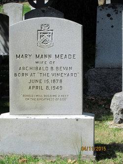Mary Mann <I>Meade</I> Bevan