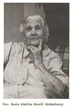Susie Adeline <I>Revell</I> Roddenberry