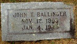 John T Ballinger