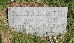 Joseph E Deutsch