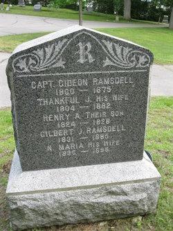 Capt Gideon Ramsdell