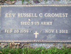 Rev Russell Charles Gromest