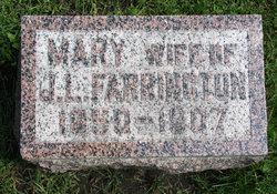 Mary Elizabeth <I>Coleman</I> Farrington
