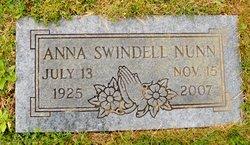 Anna <I>Swindell</I> Nunn
