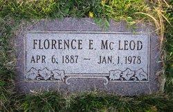 Florence Elizabeth <I>Maus</I> McLeod