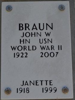 "Janette ""Jan"" <I>Merklein</I> Braun"