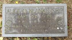 Alice O. Blankenship