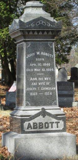 John W Abbott