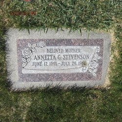 Annetta <I>Gundersen</I> Stevenson