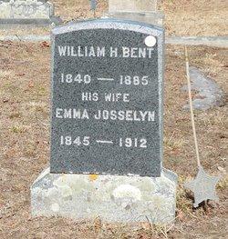 Emma <I>Josselyn</I> Bent