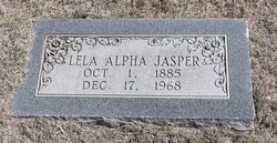 Lela Alpha <I>Bagwell</I> Jasper