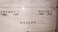 Hallie Coryn <I>Ashby</I> Wright