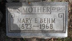 Mary Elizabeth <I>Smith</I> Behm