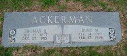 Thomas S Ackerman
