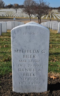 Mathilda G Bilek