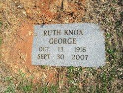 Ruth <I>Knox</I> George