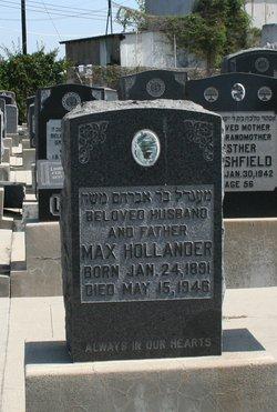 Max Hollander