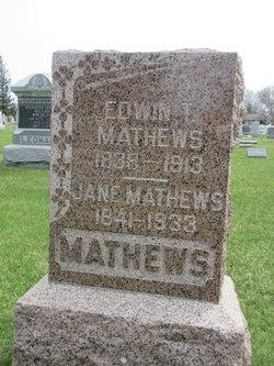 Edwin T Mathews