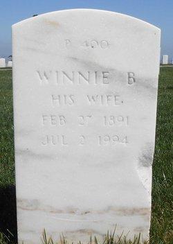 Winnie Brazora <I>Jones</I> Curtis