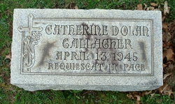 Catherine Emma <I>Dolan</I> Gallagher