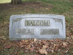 Kate M <I>Brainard</I> Balcom