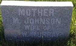 """Martha """"Mattie"""" <I>Johnson</I> Murray"""