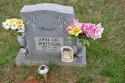 Anna Lou <I>Nuckols</I> Whitison