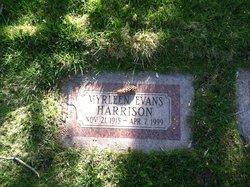 Myrleen <I>Evans</I> Harrison