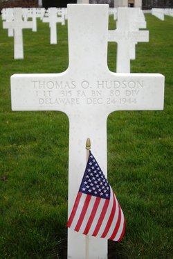 1Lt Thomas Oliver Hudson