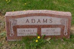 Rissie <I>Smithers</I> Adams