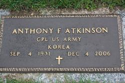 """Anthony F """"Tony"""" Atkinson"""