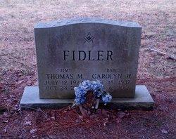 "Thomas Morgan ""Jim"" Fidler, Jr"