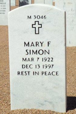 Mary F Simon