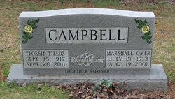 Flossie <I>Fields</I> Campbell