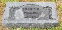 J M Capps, Sr