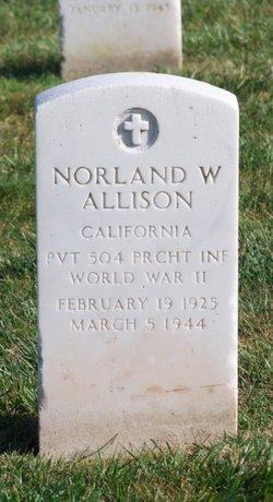 Norland W Allison