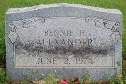 Bennie Howard Alexander