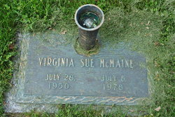 "Virginia Sue ""Ginny Sue"" McMaine"