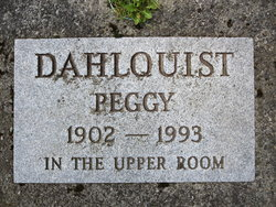 """Margaret """"Peggy"""" Dahlquist"""