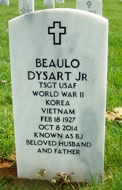 "Beaulo ""B J "" Dysart, Jr (1927-2014) - Find A Grave Memorial"