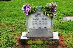 Nora <I>Elkins</I> Hancock