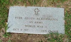 Paul Allen Ackermann