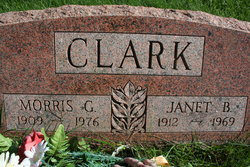 Janet <I>Backman</I> Clark