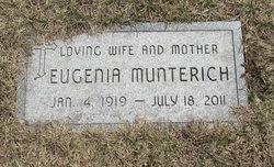 "Eugenia ""Jean"" Munterich"