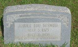 Johnie Lou Boswell
