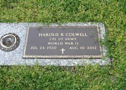 Corp Harold Ralston Colwell